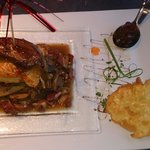Feuilleté de canard et foie gras poêlé