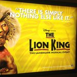 Lion King Poster @ Minskoff Theatre