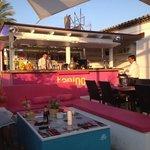 Relaxing bar at Tanino