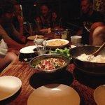 Dinner at Kunda