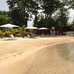 Tridents eigener Strand, ein Paradies für Schnorchler