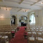 Ballroom used for wedding cermeony