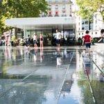 Water ground 2 at Place de la Republique