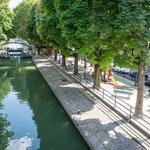 Lock By the Canal Saint Martin