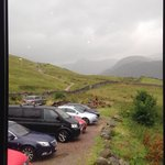 View at start of pony trek route from Ben Nevis Inn