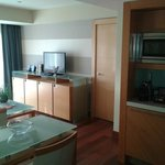 Suite - kitchen and dining