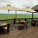 Cliff Lodge Dining Deck
