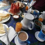 Breakfast repast