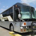 Barbara Mandrells tour bus