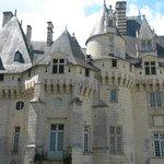 Vue du château d'Ussé