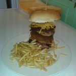 Mighty burger only £5.95