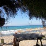 la plage d l hotel