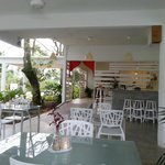 The restaurant : really nice and peacefull place