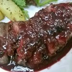 Duck Breast w/ Wildberry Sauce