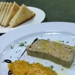 Liver Pate w/ Orange Mermelade