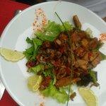 Salade de sèches à l'espagnole