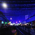 Park Street During Christmas