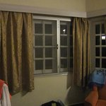 Bay window in our bedroom
