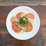 The Caprese salad