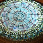 Stained glass dome - Camino Real El Paso