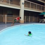 Small pool enough for happy kids