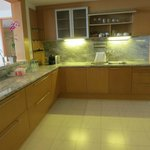 Carrera Marbled kitchen