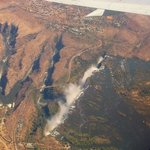 Vic Falls from the plane