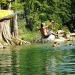 The Swimming Hole Slide