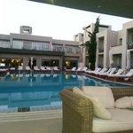 Ambrosia beach hotel pool