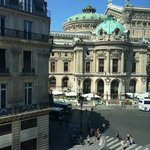 View of the Opera from our room