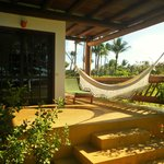 Varanda - Apartamento Master Luxo Terreo 3° Praia