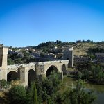 Bridge of San Martin from arched Mirada