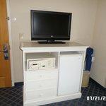 TV, Safe and dresser
