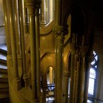 A remarkable spiral staircase