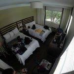 chambre 2 lits double pour 4 personnes