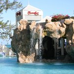 Grotto in the Caribbean Village Pool