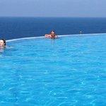 infinity pool very clean amazing views