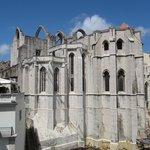 Основание собора - значительно ниже уровня улицы