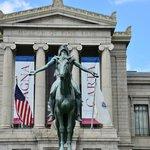 Museum Of Fine Arts, Huntington Entrance