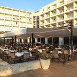 hotel dining area