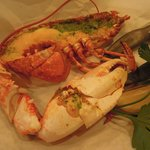 Half lobster for lunch
