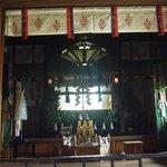 祈願所の内部