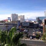 La vista desde el balcon de mi habitacion.