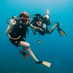Scuba diving with Wayne Foster