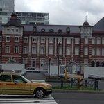 東京のタクシーと東京駅
