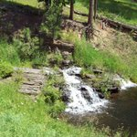 Small waterfall we saw from train