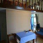 Chambre mezzanine, terrasse, vue mer