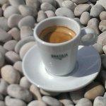 Coffee on the beach of la Granadella