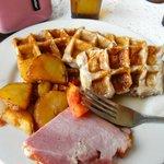 My wonderful breakfast Yummy