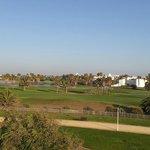 Vue golf de la terrasse